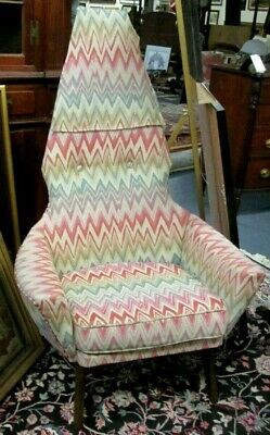 Adrian Pearsall Mid-Century Lounge Chair With Great Designer QUALITY Fabric !