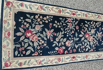 Finely Woven Oriental Runner Selling Below Cost Now ! Guaranteed Hand Woven