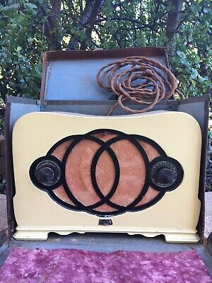 "Vintage Astor ""Mickey Mouse"" radio"