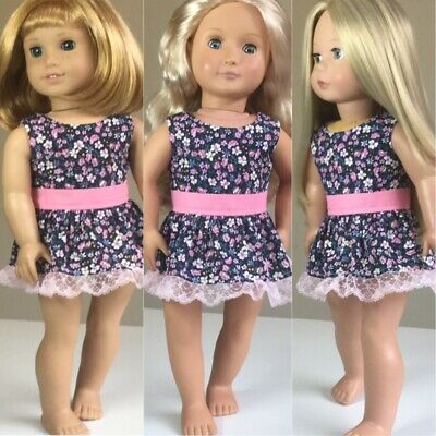 """Made To Fit American Girl And Our Generation. Dress ONLY. 18"""" Doll Clothes."""
