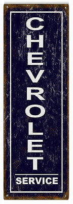 Chevrolet Service Station Motor Oil  Sign Reproduction