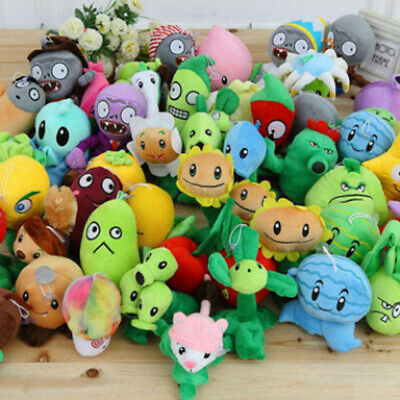 Plants Vs. Zombies PVZ Chomper Shooter Zombie Figure Soft Plush Gift Doll Toy US