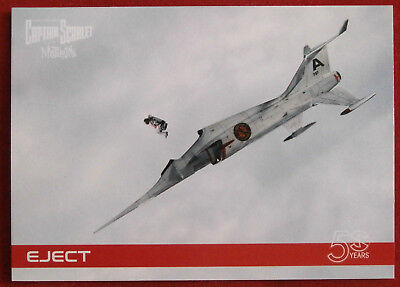 CAPTAIN SCARLET 50 YEARS - Card #16 - EJECT - Unstoppable Cards 2017