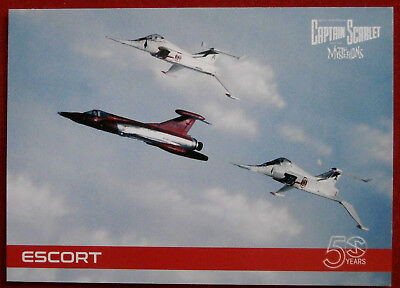 CAPTAIN SCARLET 50 YEARS - Card #17 - ESCORT - Unstoppable Cards 2017