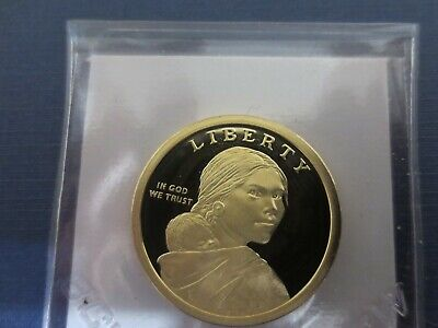 2019 S SILVER Proof SET Cameo Sacagawea  Mary Golda Ross Dollar $1 Coin