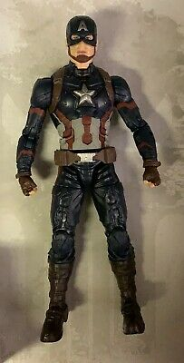 "Marvel Legends Marvel Studios The First 10 Years CAPTAIN AMERICA 6"" FIGURE MCU"