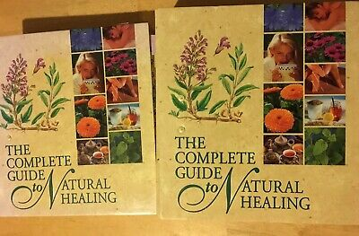 The Complete Guide to Natural Healing; 2 Binders with cards