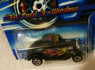 Instant Win Card #190 2006 Hot Wheels /'34 Ford 3-Window Col