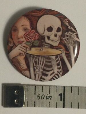 Grateful Dead Skeletons from the Closet Vintage Pin / Button