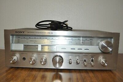 Sony STR-11S AM/FM Stereo Receiver Amplifier - Vintage and Immaculate Amp