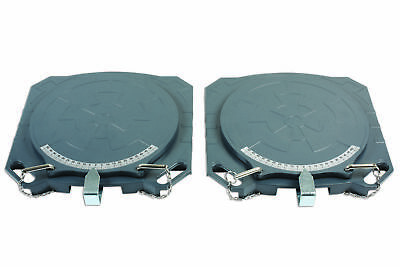 Gunson 77158 | Steering Turntables - Aluminium  4000kg (Pair)