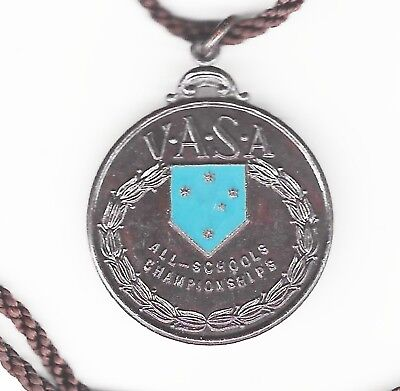 1965 V.A.S.A. ALL SCHOOLS CHAMPIONSHIPS Open Relay medal