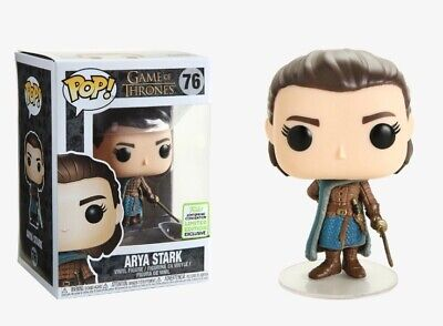 Funko Pop! Game Of Thrones Arya Stark ECCC Box Lunch Shared Sticker Protector