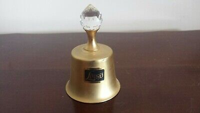 Hand Bells plated 24K made in Sweden