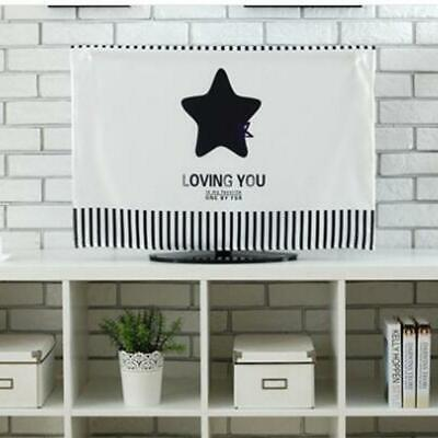 Creative Dust-proof Wall-mounted TV Cover Hanging Dust-proof Computer Cover FI