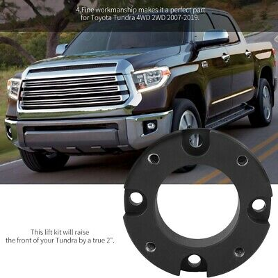 2PCS FRONT LEVELING Lift Kit 2'' for Toyota Tundra 4WD 2WD 2007-2019