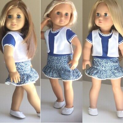 """Made To Fit American Girl And Our Generation. Outfit ONLY. 18"""" Doll Clothes."""