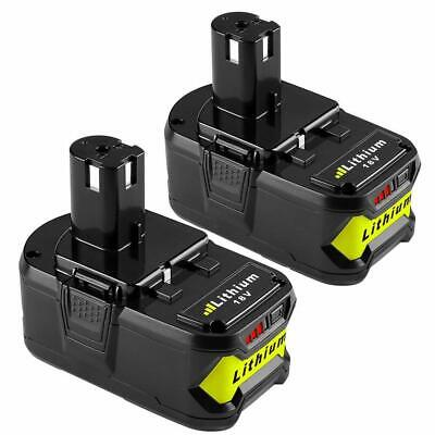 2 Pack Ryobi Replacement Battery Durable Skidproof LED Indicator Lithium-ion New