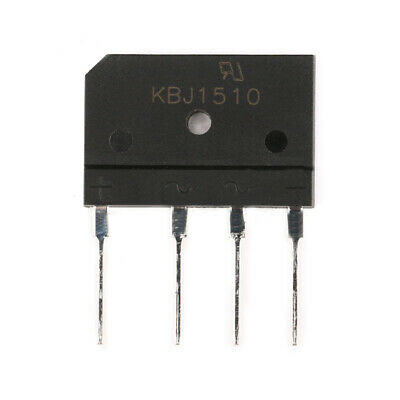 1/5/10Pcs 15A 1000V Bridge Rectifier KBJ1510 Single Phase Silicon Diode DIY