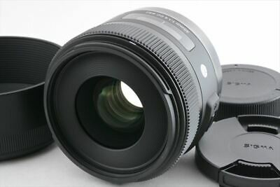 [Mint] Sigma 30mm f/1.4 DC HSM Art Lens for Sigma SA from Japan (216-K122)
