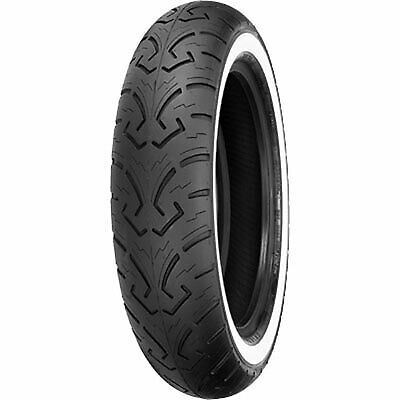 MT90-16 (73H) Shinko 250 Front Motorcycle Tire White Wall