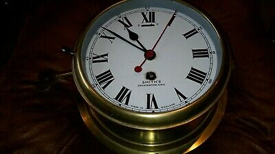 Smiths brass.and Steel, Ships clock