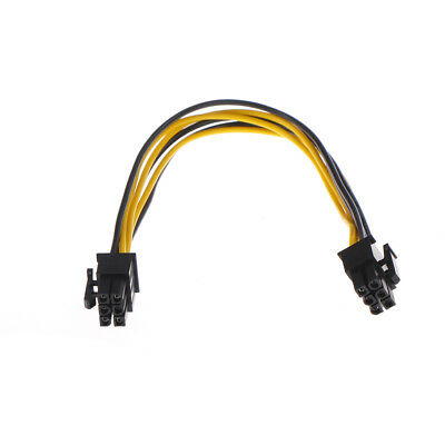 Mini-PCIe 6 Pin G5 to PCI-Express 6 Pin Video Card Cable Adapter ZJP