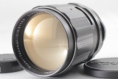 N.MINT Asahi Pentax Super Takumar 135mm f/2.5 M42 MF Lens From Japan #0528