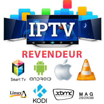 Reseller panel  IPTV 10 × Yearly subscription FR,AR,TR,GE...