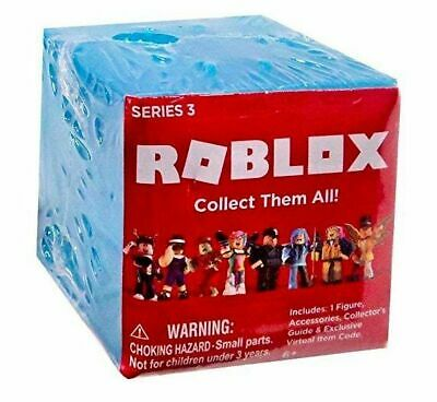 Roblox Series 3 Patient Zero Mini Figure Without Code No Packaging - Roblox Series 3 Mystery Blue Blind Box Action Figures 25