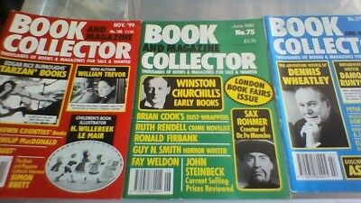 BOOK & Magazine  COLLECTOR  6 issues of this rare collectable