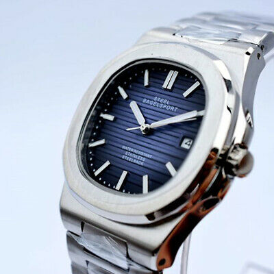 Nautilus Steel Bagelsport Classic Automatic Mechanical Time/Date Mens Watch New