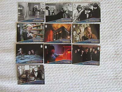 2015 Topps Doctor Who Complete Memorable Moments 10 Card Insert Set