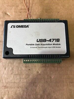 Omega USB-4718 Portable Data Acquisition Module Good Condition