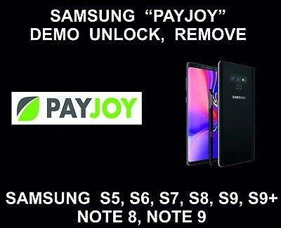 Instant Removal of Payjoy Demo Rent a Center for Samsung S6 S7 S8