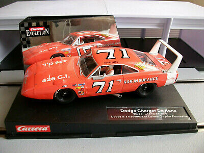 Carrera Evolution 25717 Dodge Charger Daytona 70 No.71 SLOTCAR NEU OVP NASCAR