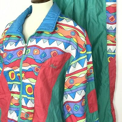 Vintage Head Sportswear L Track/Wind Suit 80/90's Street Wear Jacket Pants Y01