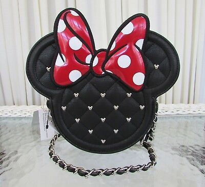 Vadobag Disney Backpack BAG Kinder Minnie Mouse Head pink Rucksack Köpfe schwarz