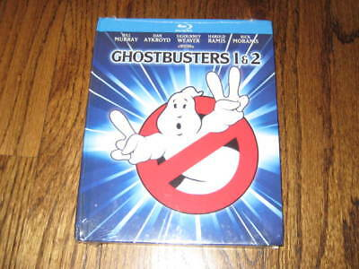 Ghostbusters/Ghostbusters 2 Blu Ray 2-Disc Set, Mastered in 4K - Sealed!