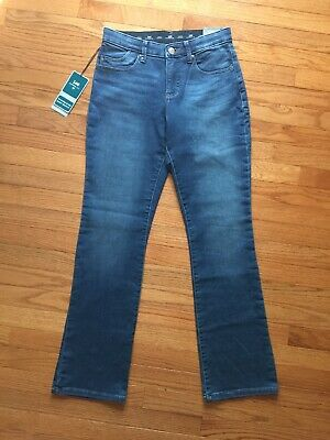 fc0e4993 Lee Cadet Platinum Label Relaxed Fit Sits Just Below Waist Barely Bootcut Sz  6M