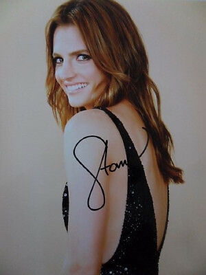 Stana Katic Signed 8x10 Photo Picture Autographed Pic Cheapest Price From Our Site Photographs Entertainment Memorabilia