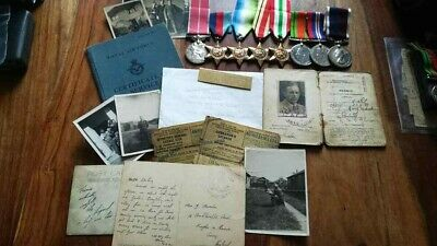 British Empire Medal WW2 RAF Group to Marsden Royal Navy LSGC BEM