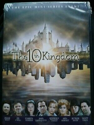 10TH KINGDOM - The Epic tv Miniseries Event dvd New Sealed free shipping  fantasy