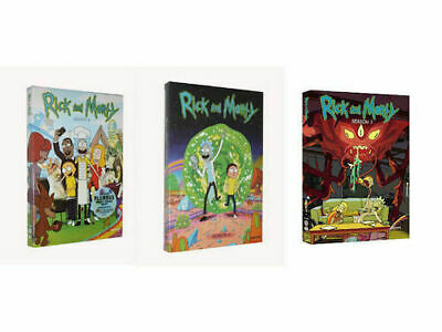 Rick and Morty: The Complete Series Seasons 1-3 1 2 3 DVD