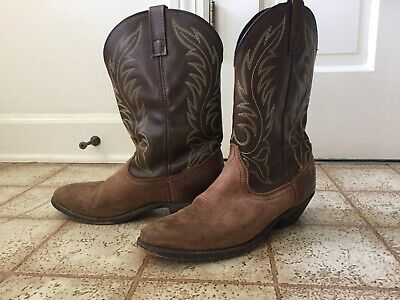 e33d96d2be0 LEATHER COWGIRL BOOTS, gently used, women's size 9 1/2, laredo boots