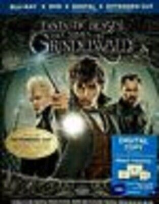 Fantastic Beasts: The Crimes of Grindelwald (Blu-Ray COMBO PACK,2019)NEW W/SLIP