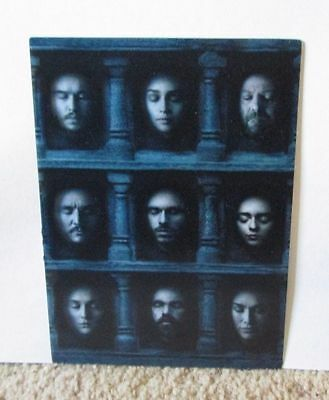 Game of Thrones Sixth Season 6 six DVD hologram cover sheet ONLY
