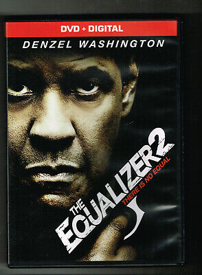 The Equalizer 2 2018 Dvd Movie Watched Once! No Digital Denzel Washington Action
