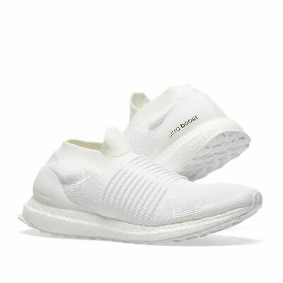 35c98e17216fc ADIDAS ULTRABOOST LACELESS Men s WHITE Running Shoes BB6146 SLIP ON Ultra  BOOST