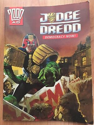 2000 AD Judge Dredd Democracy Now Comics